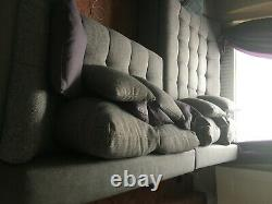 2 piece corner sofa bed / used / too big for my living room / you collect it