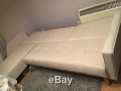 Adjustable Corner Sofa-Bed Very Good Condition
