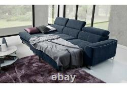 Asto Corner Sofa Bed FAST DELIVERY