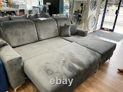 Borys Corner Sofa Bed with Storage