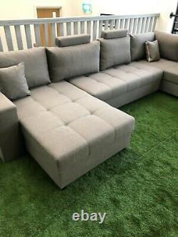 Brand New London Corner Sofa, Fabric, Sofa, Sofa Bed, Home, Furniture