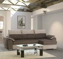 Brand New Modernistic Corner Sofa Bed Sleeping + Storage Function Cantor