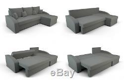 CORNER Sofa Bed. GREY. FREE DELIVERY