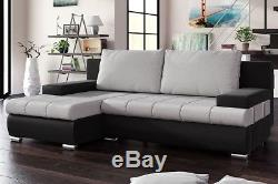 Corner Sofa Bed BANKUS Storage Container Sleep Function Universal Side New