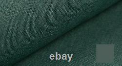 Corner Sofa Bed BERGEN turquoise L shaped sofa Storage Sprung seat
