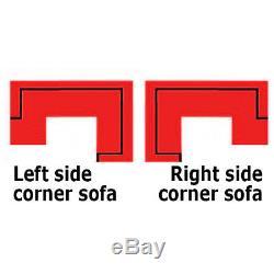 Corner Sofa Bed GENERO Storage Container Sleep Function New