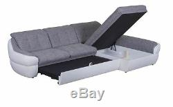 Corner Sofa Bed INFINITY MINI Bargain with Storage Container Springs New
