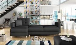 Corner Sofa Bed L Shape with Storage Universal Corner Quality Same Day Dispatch