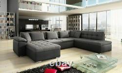 Corner Sofa Bed NIKO BIS Bargain Bedding Container Sleep Function