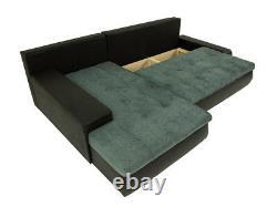 Corner Sofa Bed ORKAN MINI with Storage Container Universal Corner Side New