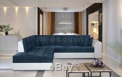 Corner Sofa Bed PETER with Sleep Function New MANY COLOUR