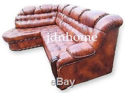 Corner Sofa Bed +Storage, Real Italian Leather, Sold, High Quality, Cheap