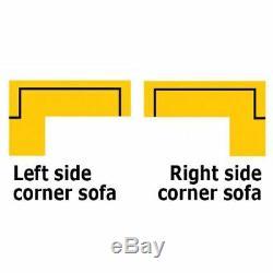 Corner Sofa Bed TRENDI I with Storage Container Universal Corner Side New