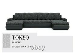 Corner Sofa Bed U-shape Santi