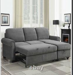Corner chaise sofa bed
