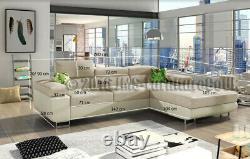 Corner sofa bed - ANTOL - GREY FAST DELIVERY HOT SALE 2020