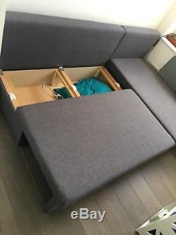 Corner sofa bed used
