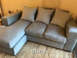 Couch For Life new RAFT Manhattan sofa bed with chaise and cushions in gray
