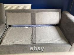 DFS Astaire Corner Sofa / Sofa Bed / Grey / Great Condition