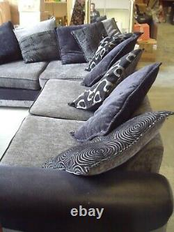 DFS Corner Sofa bed and Love Seat (Cuddle Seat) & Footstool
