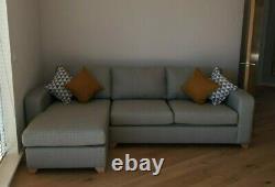 DFS Lydia R/H Facing Corner Sofa Bed, Memory Foam, Excellent Condition