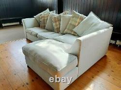 DFS grey Corner 3 Seater Sofa Bed