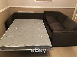 Dfs Lfh Corner Sofa Bed Chocolate