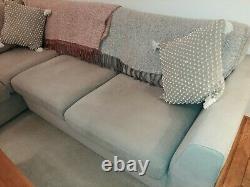 Dfs corner sofa / double sofa bed
