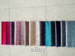Dk Grey Gloss Crushed Velvet, Corner Sofa Bed Mike, Large Bed, Universal Hand