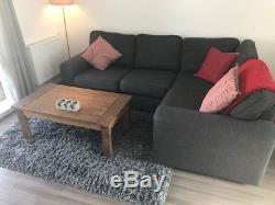 Dreams Grey Corner Sofa Bed. Great Condition