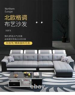 Fabric corner sofa bed