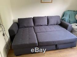 Grey Corner Sofa Bed