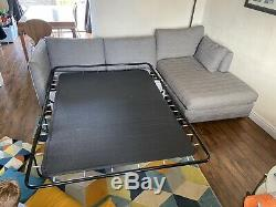 Grey L Shaped Sofa/ Sofa Bed, Made. Com, Left Hand Side L Shape Great Condition