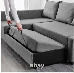 IKEA Corner Sofa-bed with storage, great condition 3 years old only FRIHETEN