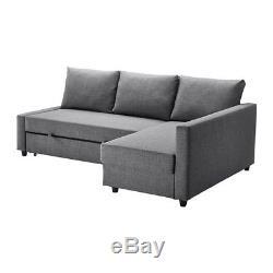 IKEA FRIHETEN Corner Sofa Bed With Storage, Dark Grey. Excellent Condition