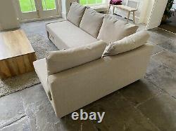 IKEA FRIHETEN Corner sofa-bed with storage Hyllie beige
