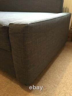 IKEA FRIHETEN left or right hand corner double sofa-bed sofabed grey