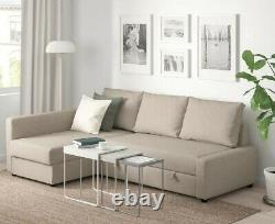 IKEA Friheten Corner Sofa-Bed 3-Seater with storage
