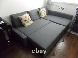 IKEA Friheten Grey Corner Sofa Bed With Storage
