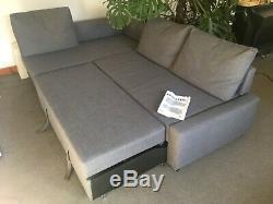 IKEA Friheten Grey corner sofa bed with storage. Super comfortable sofa & bed