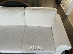 IKEA cream corner storage sofa bed in great condition (pet /smoke free home)