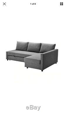 Ikea Friheten Corner Sofa Bed With Storage Grey