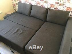 IKEA friheten corner sofa bed Brown
