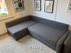Ikea FRIHETEN Dark Grey Corner sofa-bed with storage