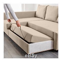 Ikea Friheten Corner Sofa Bed Beige With Storage