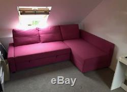 Ikea Friheten Corner Sofa Bed Chaise With Storage