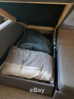 Ikea Friheten Corner Sofa Bed Grey With Storage