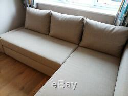 Ikea Friheten Corner Sofa Bed With Storage Excellent Condition £450 RRP