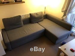 Ikea Friheten Grey corner sofa bed