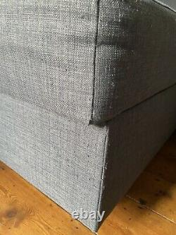 Ikea Friheten corner sofa-bed with storage, Grey